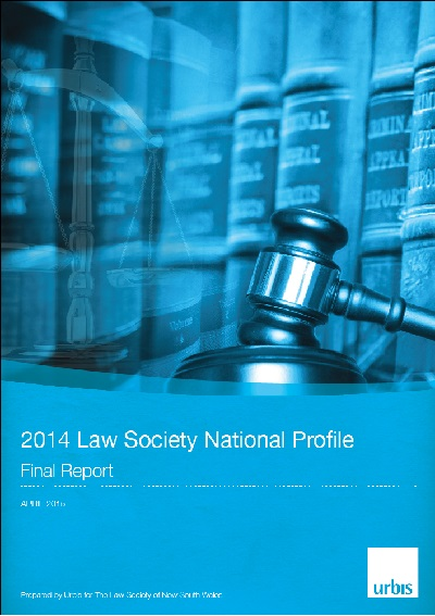 2014 Law Society National Profile