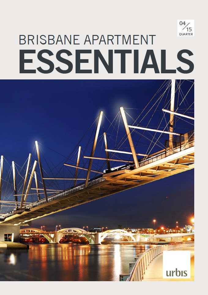 Brisbane Apartment Essentials Q4 2015 cover