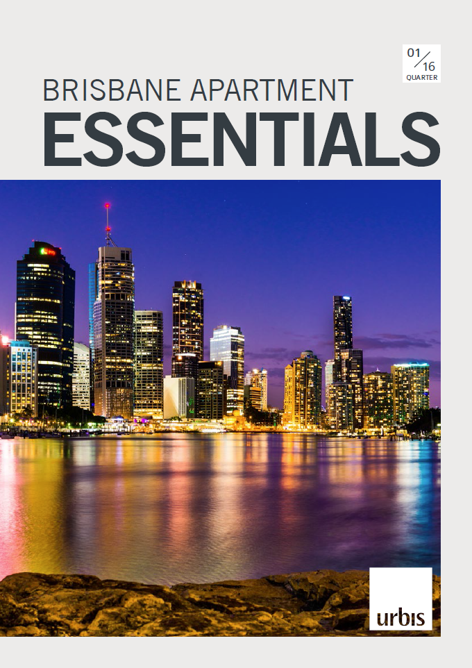 Brisbane Apartment essentials Q1 2016 cover