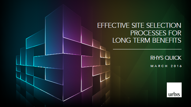 Urbis | The long term benefits for effective site selection