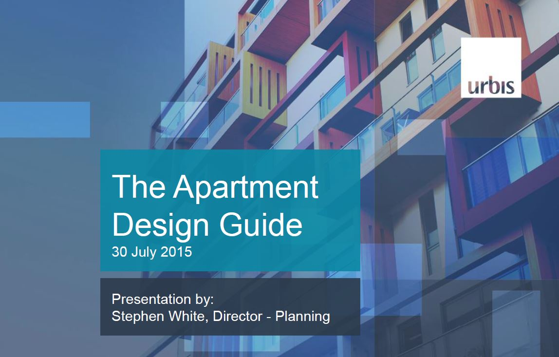 Clarity flexibility and certainty impact of sepp65 for Apartment design manual