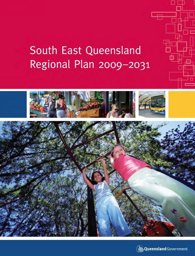seq-regional-plan-2009 cover