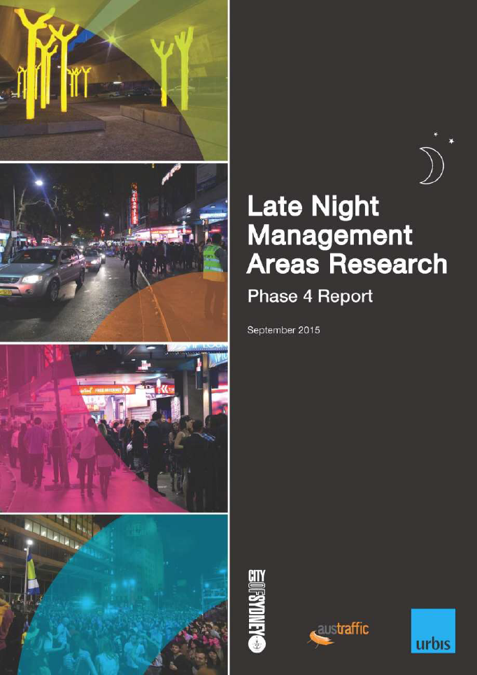 Late night management areas research cover