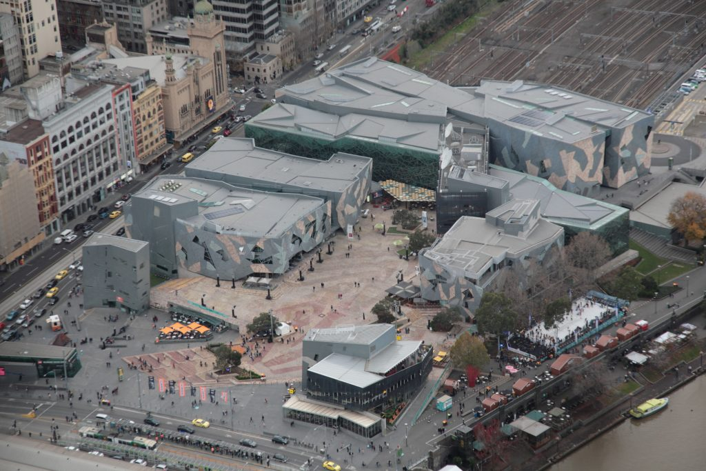 Valuing Federation Square land